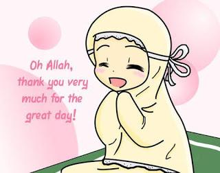 Gambar Orang Kartun Berdoa