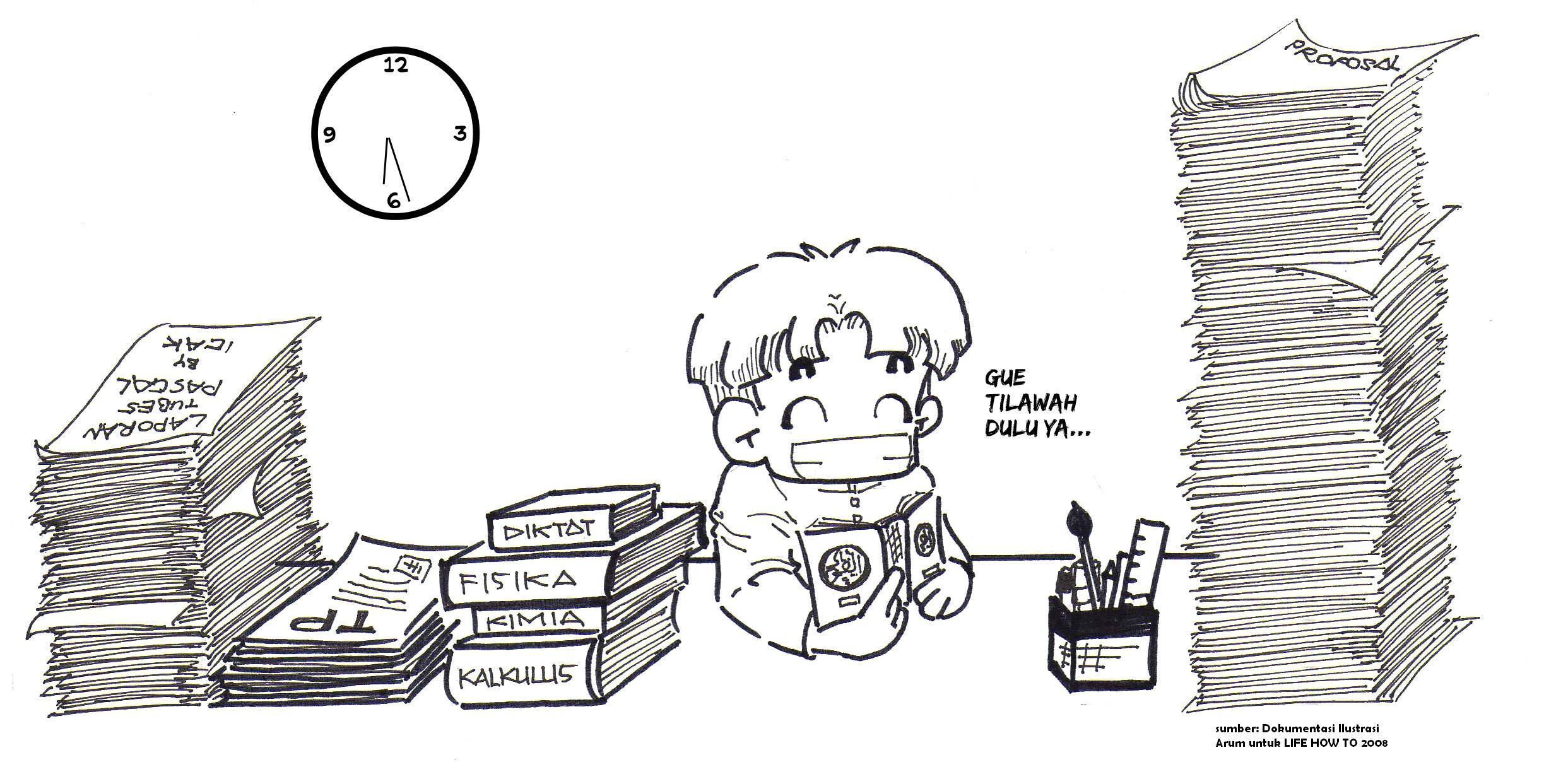 Gambar Kartun Pendidikan Rajin Gambar Unik Lucu