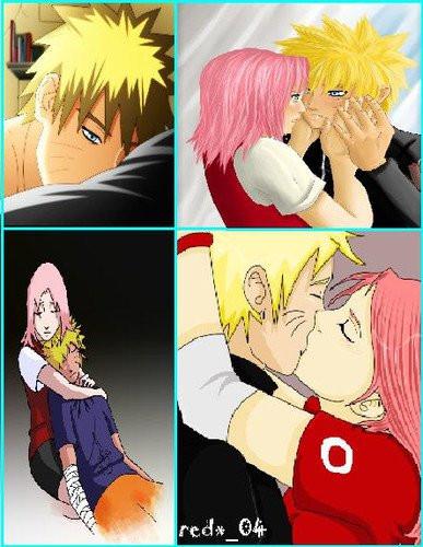 Gambar Kartun Romantis Naruto Sakura Unik Lucu Foto