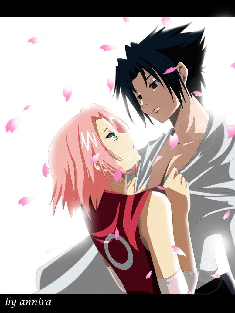 Gambar Kartun Romantis Sasuke And Sakura Gambar Unik Lucu