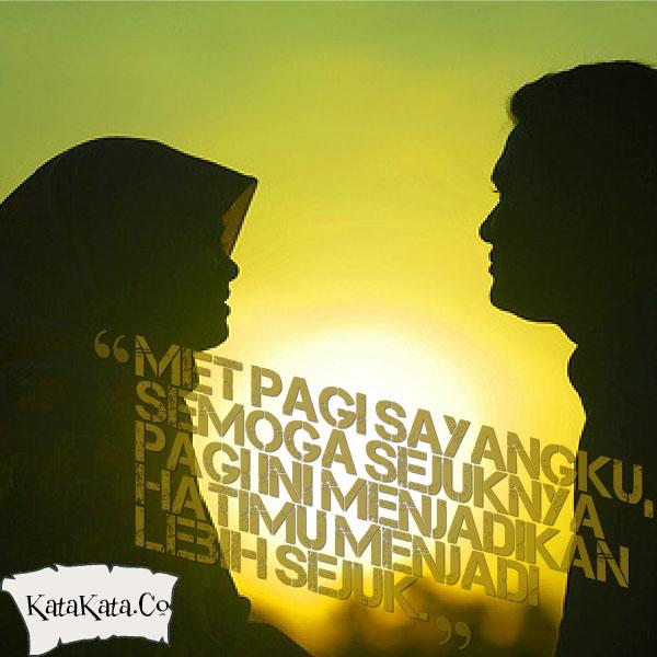 Ucapan Selamat Pagi Islami Romantis Gambar Unik Lucu