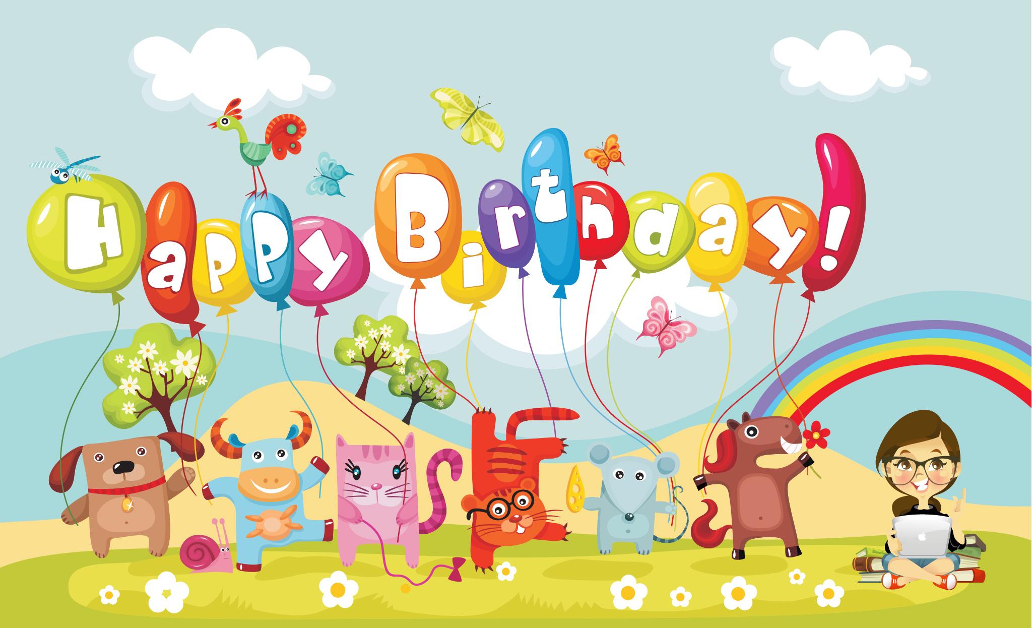 Gambar Kartun Lucu Ucapan Selamat Ulang Tahun Komicbox