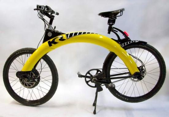 gambar sepeda dengan desain yang unik