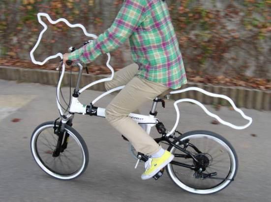 gambar sepeda kuda unik