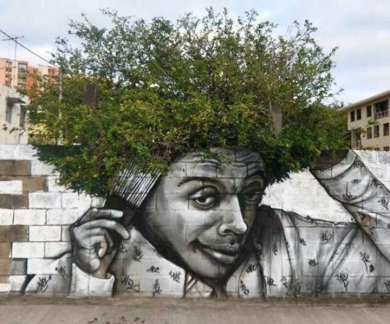 gambar lukisan dinding lucu keren dan gokil