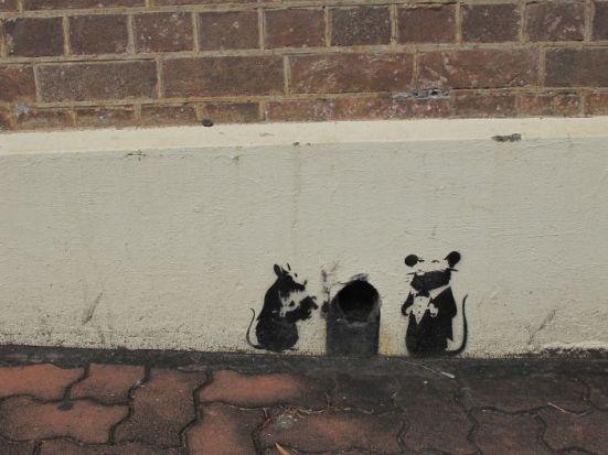 gambar lukisan dinding yang lucu